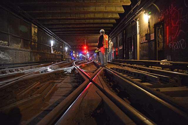 MTA subway repairs